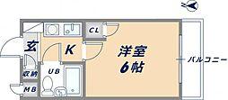 KSピースマンション[402号室]の間取り