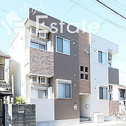 愛知県名古屋市中村区栄生町の賃貸アパートの外観