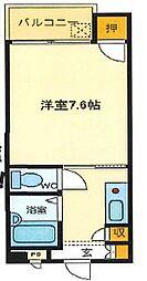 兵庫県姫路市野里慶雲寺前町の賃貸マンションの間取り