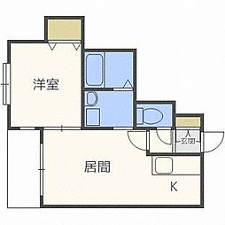 レユシールN30[2階]の間取り