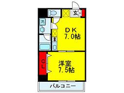 エクセル新大阪[3階]の間取り
