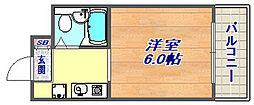 フォーレ本山中町[403号室]の間取り