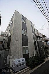 東京都品川区中延2丁目の賃貸アパートの外観
