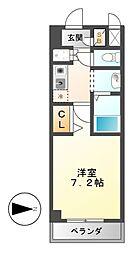 DORF JUBAN(ドルフ ジューバン)[4階]の間取り