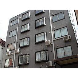 北海道札幌市中央区南五条西9丁目の賃貸マンションの外観