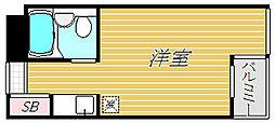 東京都墨田区八広3丁目の賃貸マンションの間取り