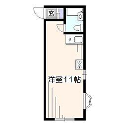 Heim HIBARI[1階]の間取り