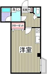 小茂根ビル[1階]の間取り