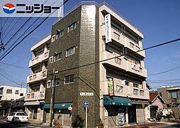 サン駒止ビル[4階]の外観