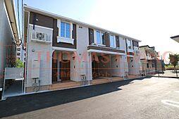 福岡県飯塚市忠隈の賃貸アパートの外観