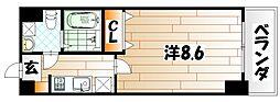 No.71 オリエントトラストタワー[14階]の間取り