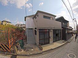 兵庫県宝塚市清荒神3丁目の賃貸アパートの外観