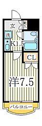 T.S第二マンション[2階]の間取り