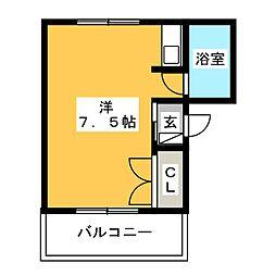須崎グランドレジデンス[5階]の間取り
