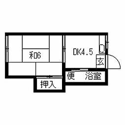【敷金礼金0円!】堅粕サンコーポC