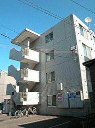 ビッグバーンズマンション菊水[3階]の外観