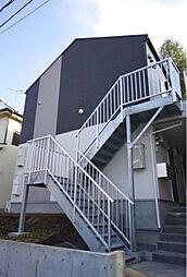 神奈川県横浜市鶴見区諏訪坂の賃貸アパートの外観