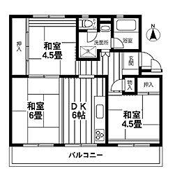 【敷金礼金0円!】貝取団地4-4