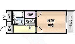 マンションアルテ3階Fの間取り画像