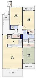 ウッドパーク金沢文庫サイト3[104号室]の間取り