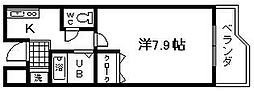 セゾンコート春木[2号室]の間取り