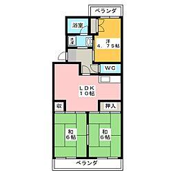グランドパレス[3階]の間取り