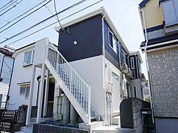 千葉県船橋市咲が丘4丁目の賃貸アパートの外観