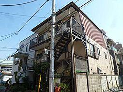 東京都中野区弥生町1丁目の賃貸アパートの外観