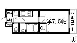 ベルハウス[3階]の間取り