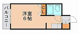メゾンド祇園[1階]の間取り