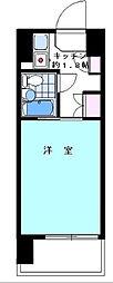ハイタウン大森No2[10階]の間取り