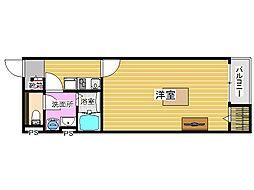 レオネクストコガスリー[1階]の間取り
