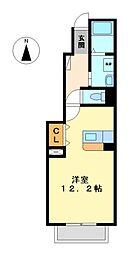 アンテノール[1階]の間取り