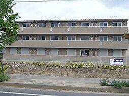 茨城県守谷市松前台4丁目の賃貸アパートの外観