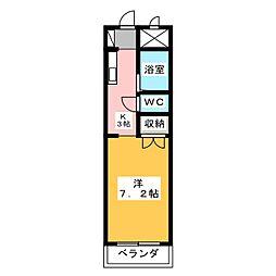 ドルフ春日井[5階]の間取り
