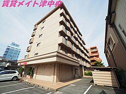 三重県津市桜橋1丁目の賃貸マンションの外観