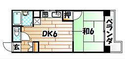 英成レジデンス[2階]の間取り