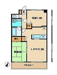 渋谷レジデンス[2階]の間取り