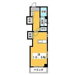 リバブル稲川[4階]の間取り