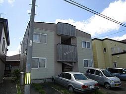 北海道札幌市東区北丘珠五条3丁目の賃貸アパートの外観