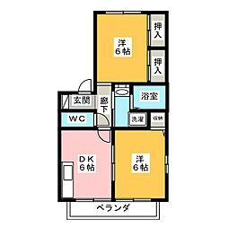 エネリスC[2階]の間取り