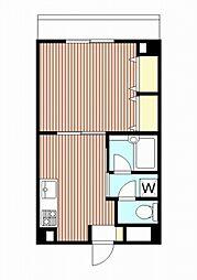 メゾンドヴィレKA[4階]の間取り