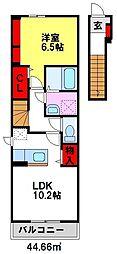 コオリナセリーヌ十番館[2階]の間取り