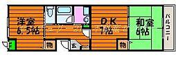 岡山県岡山市北区津島西坂2丁目の賃貸マンションの間取り