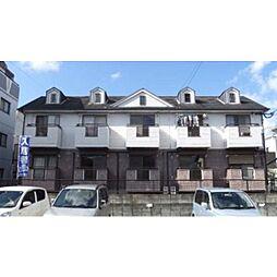 福岡県春日市宝町2丁目の賃貸アパートの外観