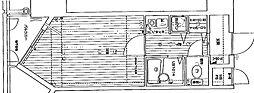 リーガル塚本VII[305号室]の間取り