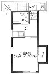 宇都木邸[2階]の間取り