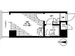 ライオンズマンション西八王子第2[7階]の間取り