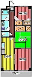 ハイツ メリオラ[2階]の間取り