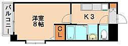 ハイブリッジⅡ[1階]の間取り